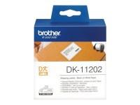 Brother etiquetas DK11202 62mmx100mm Envio (300uni