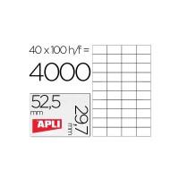 Apli etiquetas 01286 I/L/F 52,5X29,7 100H