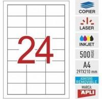 Apli etiquetas 03056 I/L/F 64,6X33,8 100H