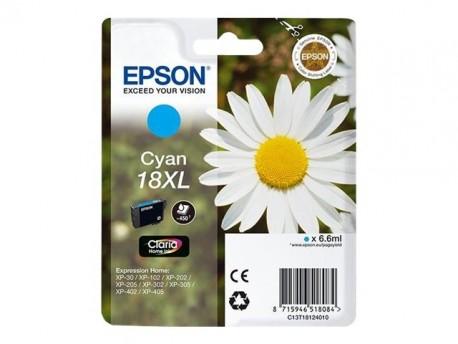 Epson cartucho de tinta cyan 18XL (T1812) 470 pág.