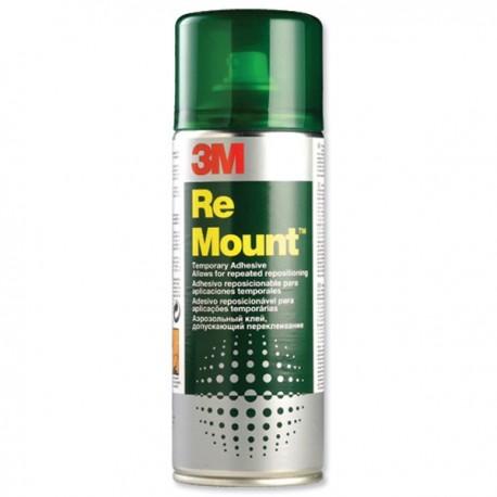 3M Adhesivo spray remount 400ml.
