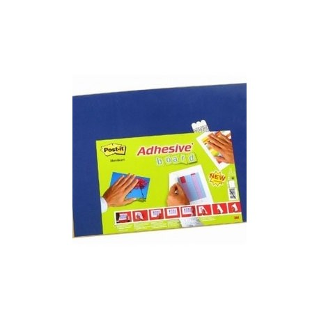 3M Post-it panel adhesivo 558 457x584mm azul marmo