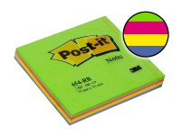 3M Post-it notas 654RB 76x76mm primavera