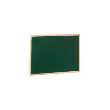 Pizarra verde para tiza 80X60 marco de madera