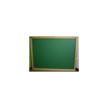 Pizarra verde para tiza 40 cm x 30 cm marco pino