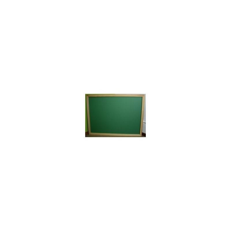 Pizarra verde para tiza 40 cm x 30 cm marco pino - Informática en Gavà