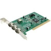 Startech Tarjeta PCI Fire-Wire 4 puertos (3ex.+1)