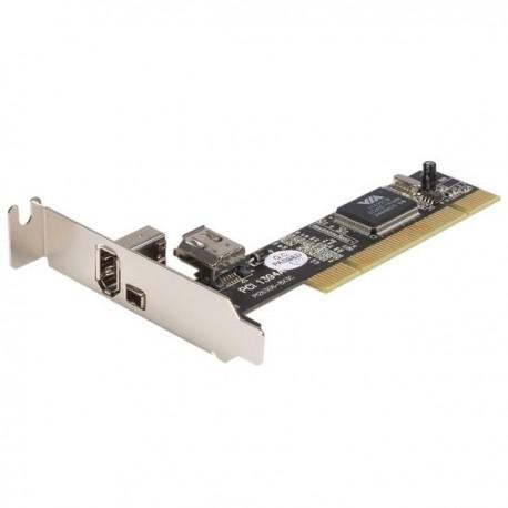 Startech Tarjeta PCI Fire-Wire 3 puertos (2ex.+1)