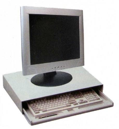Supplies cajón teclado FT101AL sobremesa metálico