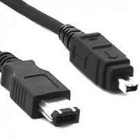 Cable Firewire 6P a 4P IEEE1394 019107 1 metro