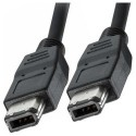 Cable Firewire 6P a 6P IEEE1394 019101 1metro neg