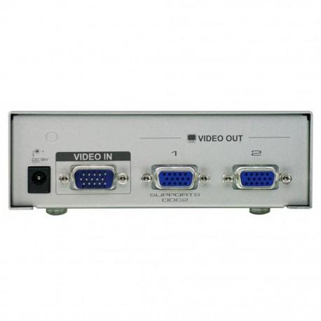 Aten conmutador / spliter VGA 1 Pc a 2 monitores
