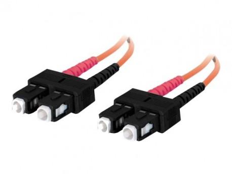 Digitus cable fi. óptica SCSC 62,5/125 Duplex 1m.