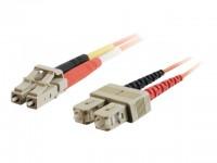 Cable de fibra óptica SC-LC 62,5/125 Duplex 2m.