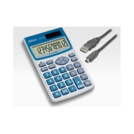 Ibico calculadora 121X solar conectable a pc (comp