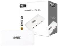 Sweex Hub USB 7 puertos con alimentación 2.0