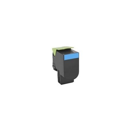 Lexmark tóner cyan 802HC 80C2HC0 3000 páginas
