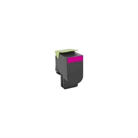 Lexmark tóner magenta 802HM 80C2HM0 3.000 páginas