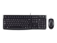 Logitech kit teclado+rat esp. 920-002550 MK120 USB