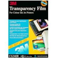 3M Transparencias CG3420 50 hojas Inkjet color