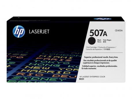 HP toner negro 507A CE400A 5.500 páginas