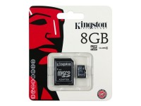 Kingston memoria SD 8 Gb Micro 1 adapt 8GB class4