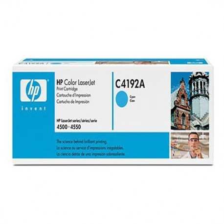 HP toner cyan C4192A 6.000 páginas Color Laser