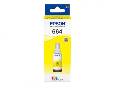 Epson cartucho tinta amari. T6644 70 ml 6.500 pág.
