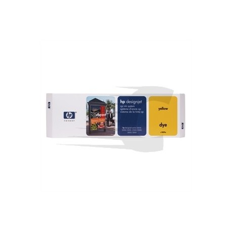 HP cartucho de tinta amarillo C1809A 410ml. 400 p