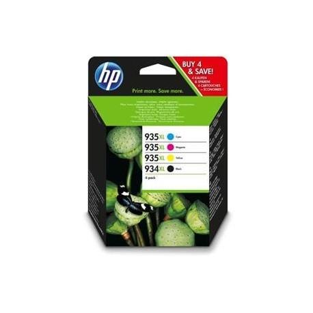 HP cartucho de tinta multipack 934XL+935XL X4E14AE