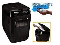 Fellowes destruc. Automax 200M 4656301 32L micro.