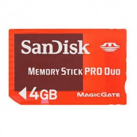 Sandisk memo. SDMSG-004G-B46 4Gb Memory Stick Pro
