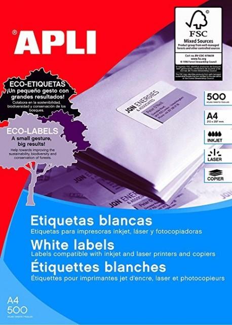 Apli etiquetas 01787 I/L/F/ 210X148 500h.
