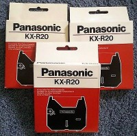 Panasonic cinta correctable KX-R20 GR.153c