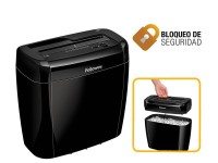 Fellowes destructora 36C 6h. partículas 4 x 40mm