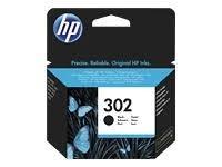 HP cartucho de tinta negro 302 F6U66AE 190 página