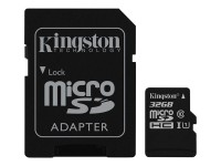 Kingston memoria SD SDCS/32GB Canvas Select - 32GB