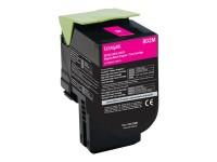 Lexmark tóner magenta 802M 80C20M0 1.000 páginas