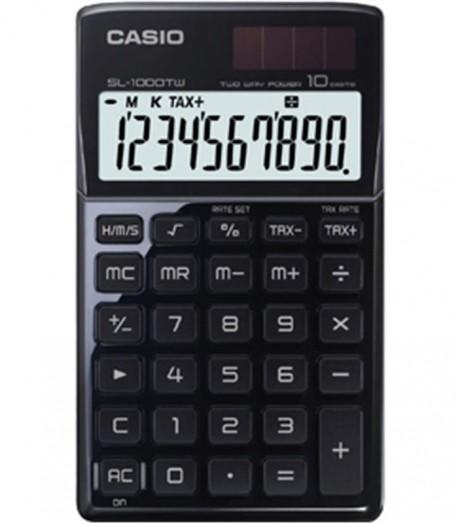 Casio calculadora de bolsillo SL-1000TW 10 dígitos