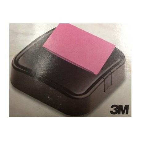 3M Porta notas C303 negro + bloc 100 notas R-330N
