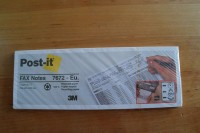 3M Post-it notas 7672 210x74,5mm mensaje fax