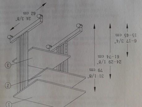 Offidata mesa rectangular PC800 17020810