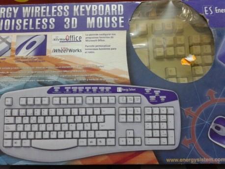 Energy System teclado + ratón inalámbrico win95/98