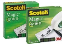 3M Cinta invisible Scotch Magic 810 12mm x 33m.