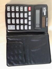 Unioffice calculadora de bolsillo con funda 353300