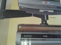 Soporte video VHS/VCR universal P6138P para soport
