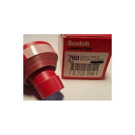Scotch cinta adhesiva manual 760 12mm x 3m verde