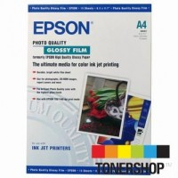 Epson papel S041071 A4 Glossy Film 170gr. 15 hojas