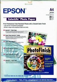 Epson papel S041560 A4 photo ColorLIf 245gr. 20 h.