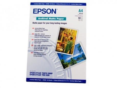 Epson papel S041342 A4 mate larga duración 192gr.